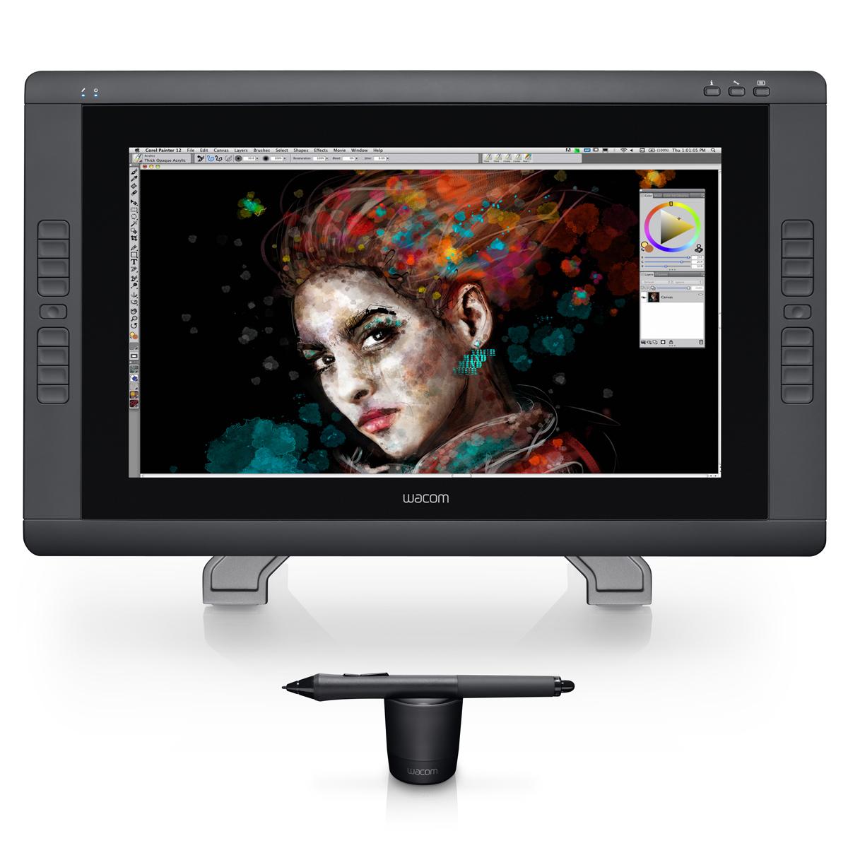 Tablette graphique Wacom Cintiq 22HD touch Tablette graphique professionnelle (PC / MAC)