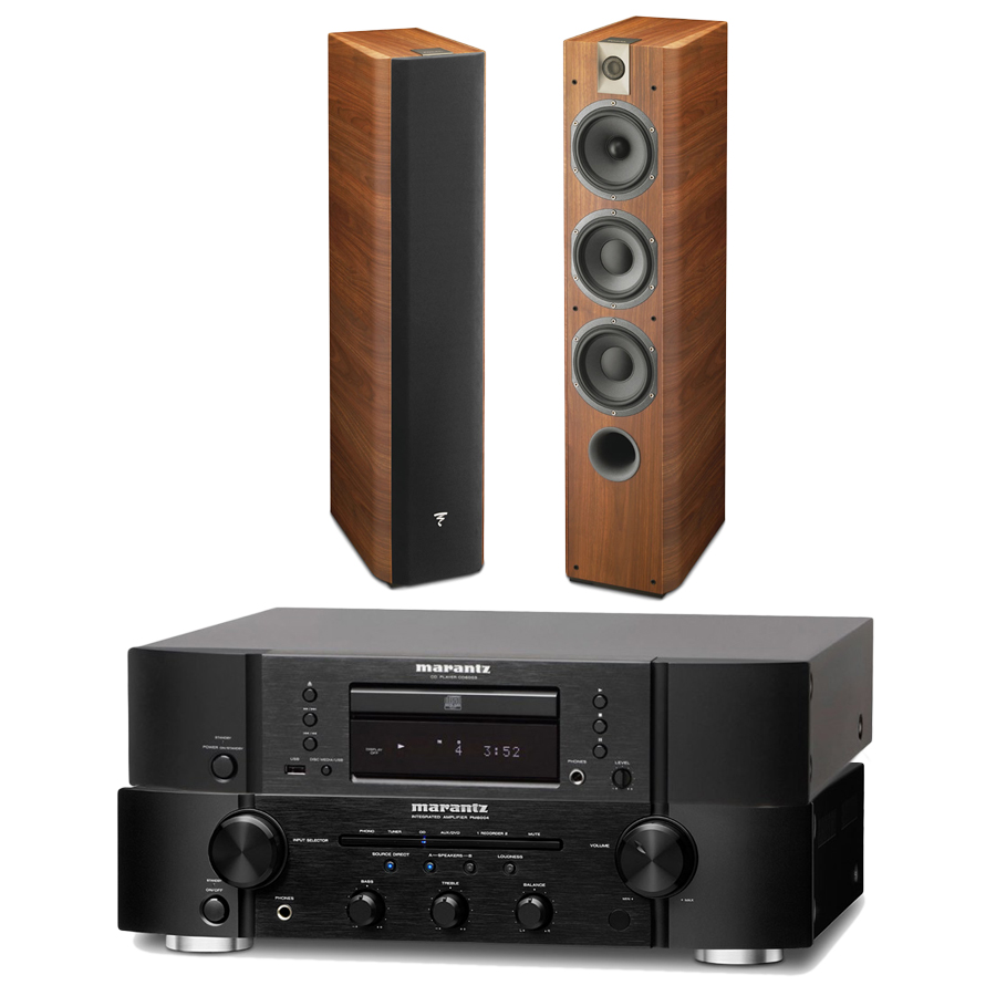 marantz pm6004 cd6004 focal chorus 726 noyer cha ne. Black Bedroom Furniture Sets. Home Design Ideas