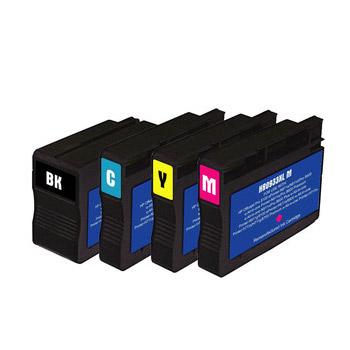 Cartouche imprimante LDLC pack économique compatible HP 932 XL / 933 XL (BK + C + M + Y) Lot de 4 cartouches (1 noire + 1 cyan + 1 magenta + 1 jaune)