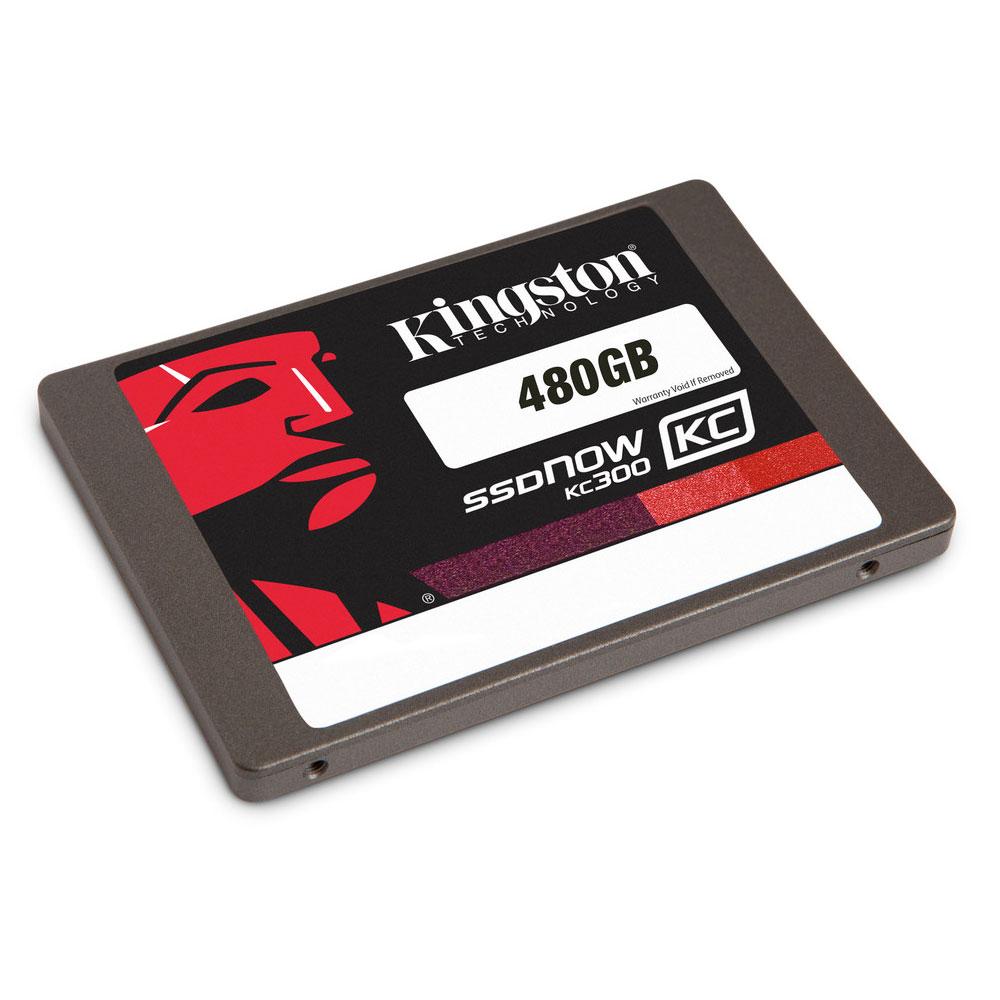 "Disque SSD Kingston SSDNow KC300 Series 480 Go SSD 480 Go 2.5"" 7mm Serial ATA 6Gb/s"