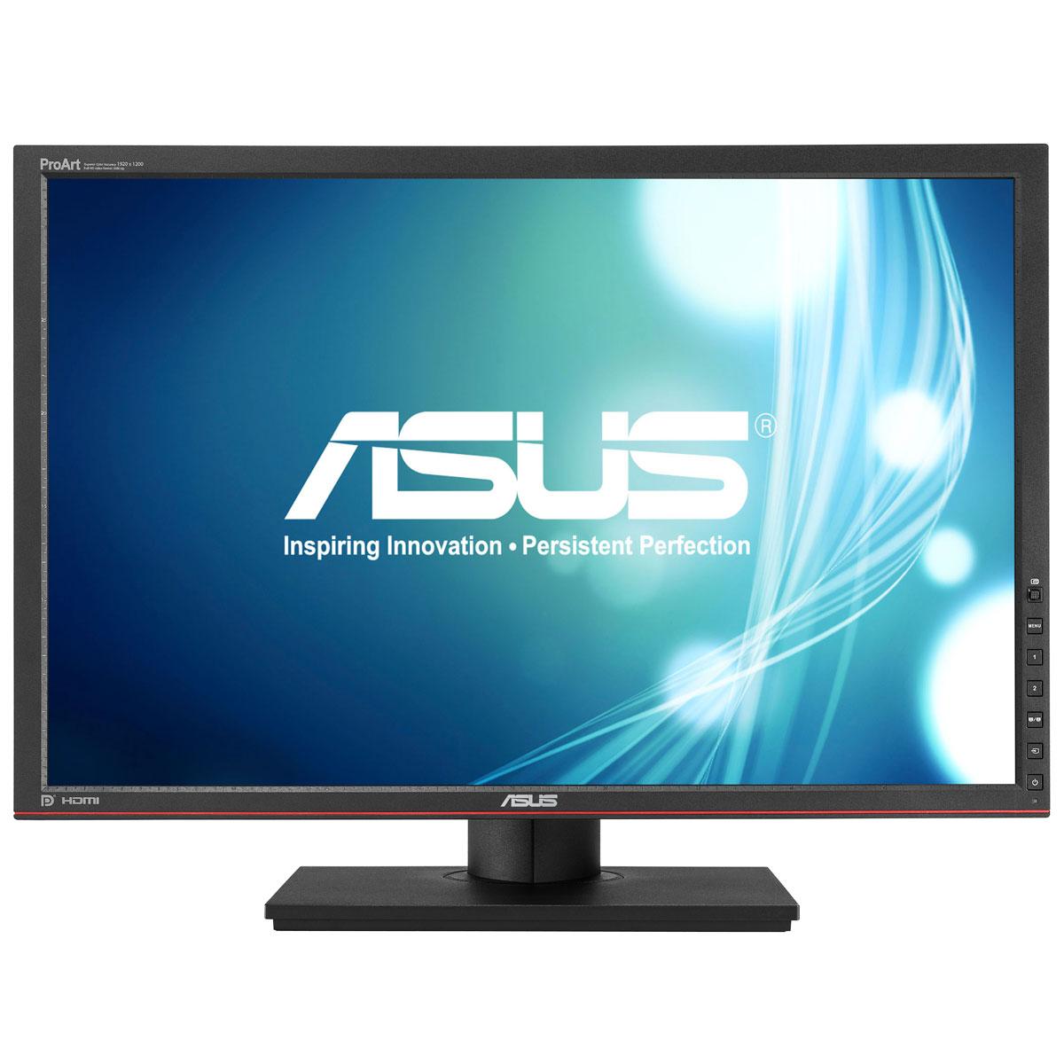 """Ecran PC ASUS 24.1"""" LED - PA249Q 1920 x 1200 pixels - 6 ms (gris à gris) - Format large 16/10 - Dalle IPS - Flicker Free - Pivot - Hub USB 3.0 - HDMI (garantie constructeur 3 ans)"""