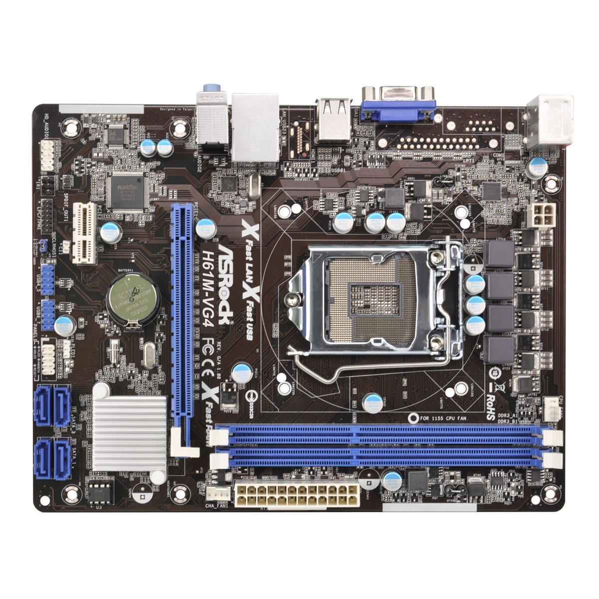 ASRock H61M-VG4 Intel Graphics Drivers for Windows 7