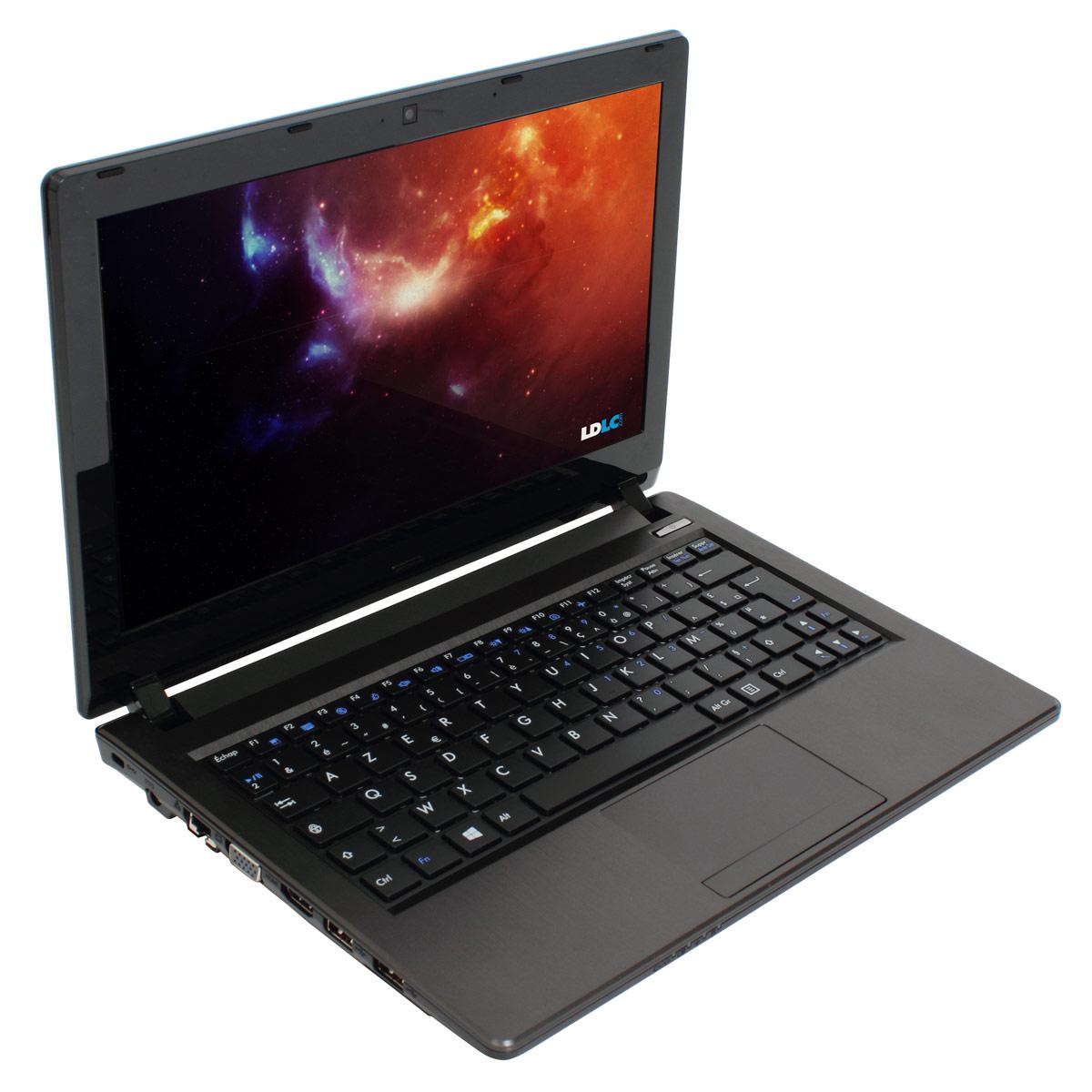 "PC portable LDLC Mercure ML1-C1-4-S1-H7 Intel Celeron 1037U 4 Go SSD 120 Go 11.6"" LED HD Wi-Fi N/Bluetooth Webcam Windows 7 Premium 64 bits"