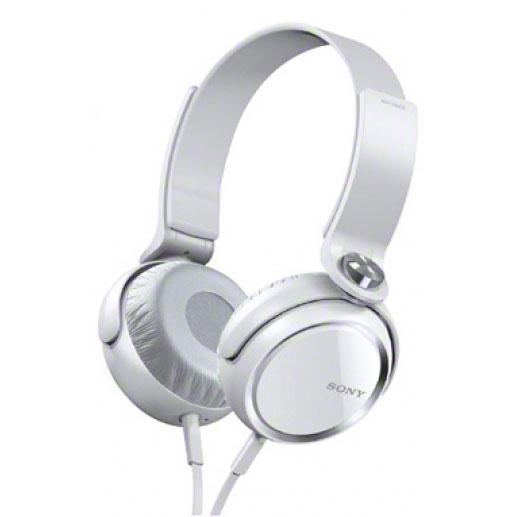 Casque Sony MDR-XB400 Blanc Casque supra-auriculaire fermé