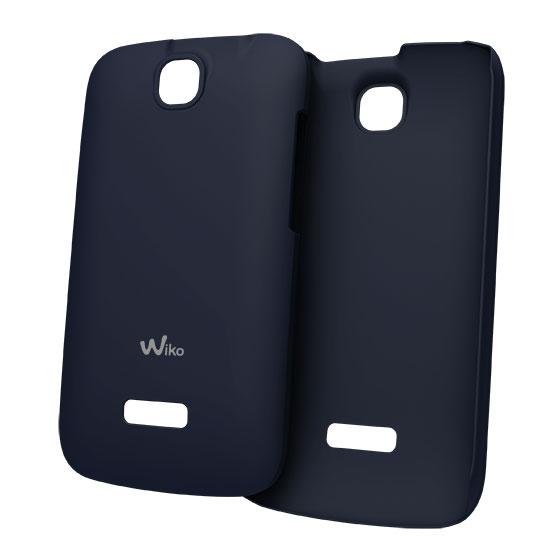 Etui téléphone Wiko Coque Ultra Fine Bleu Wiko Cink + Coque pour Wiko Cink +