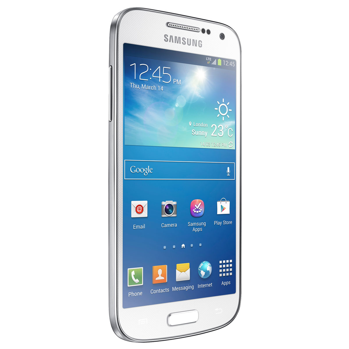 samsung galaxy s4 mini gt i9195 white frost 8 go mobile. Black Bedroom Furniture Sets. Home Design Ideas