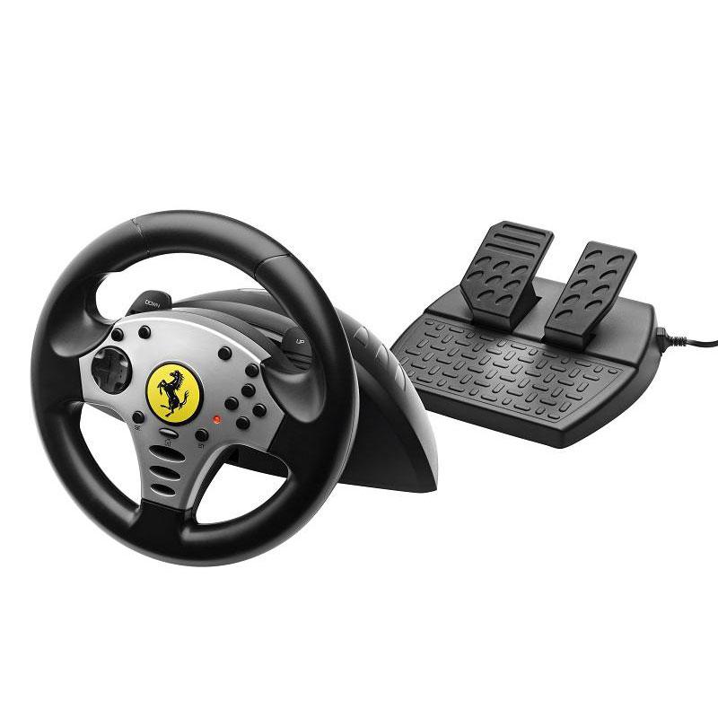 thrustmaster ferrari challenge racing wheel pc ps3 volant pc thrustmaster sur. Black Bedroom Furniture Sets. Home Design Ideas