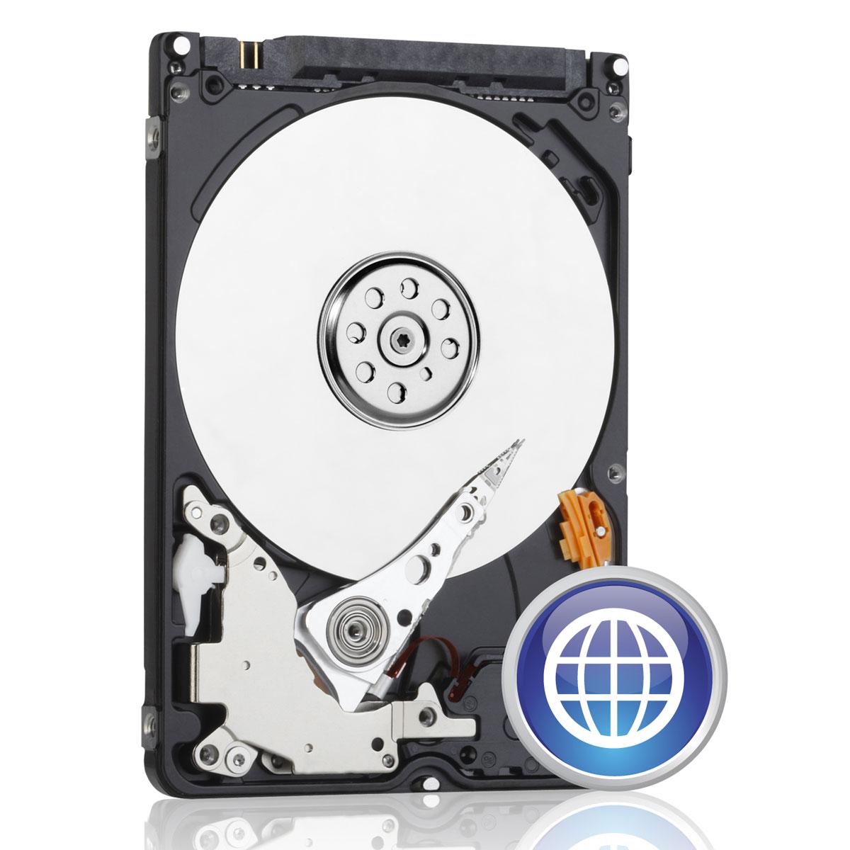 "Disque dur interne WD Blue Mobile 750 Go 7 mm Disque dur 2.5"" 750 Go 7 mm 5400 RPM 8 Mo Serial ATA III 6 Gb/s (bulk)"
