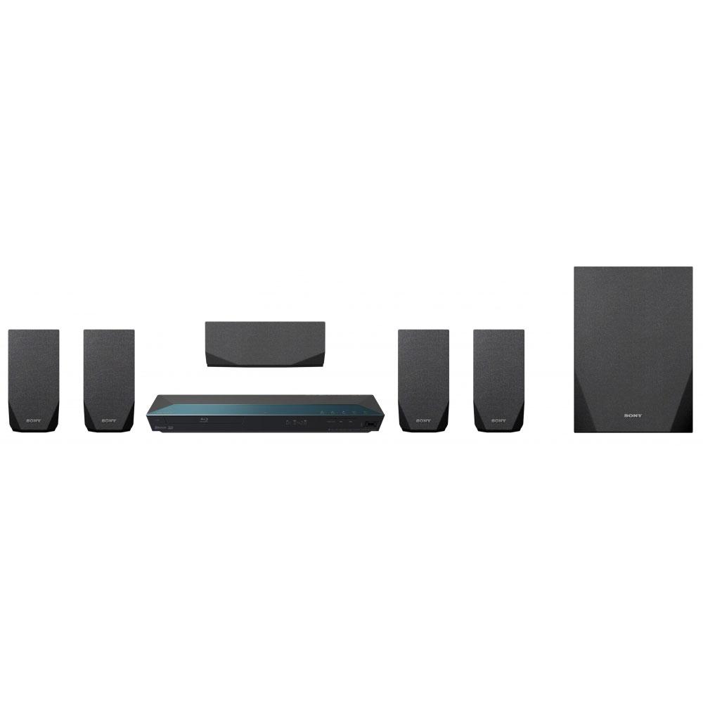 Ensemble home cinéma Sony BDV-E2100 Ensemble Home Cinema Blu-ray 3D 5.1 Wi-Fi, NFC et Bluetooth