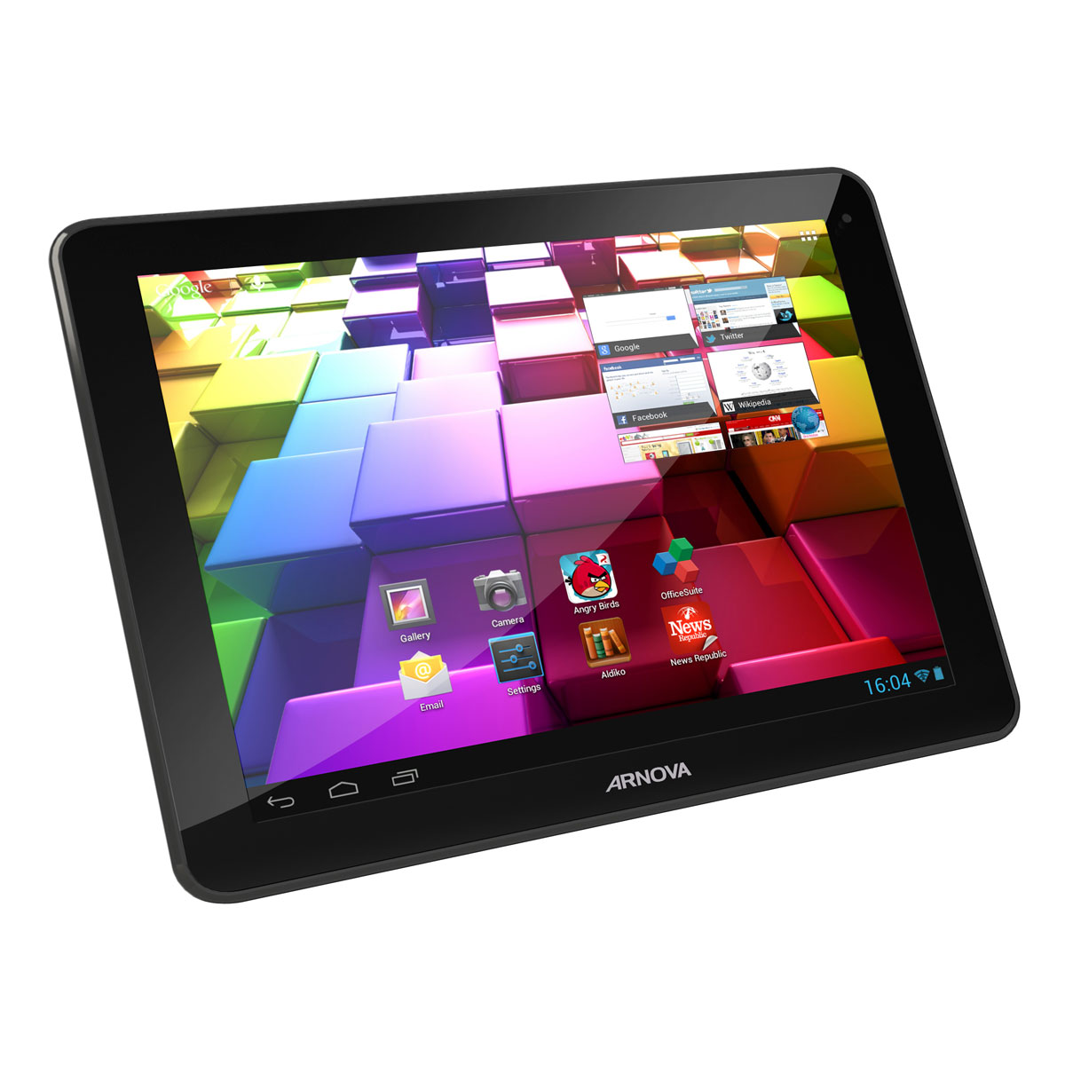 """Tablette tactile Arnova 97 G4 - 8 Go Tablette Internet - ARM Cortex A9 1.6 GHz 8 Go 9.7"""" LCD tactile Wi-Fi N Webcam Android 4.1"""