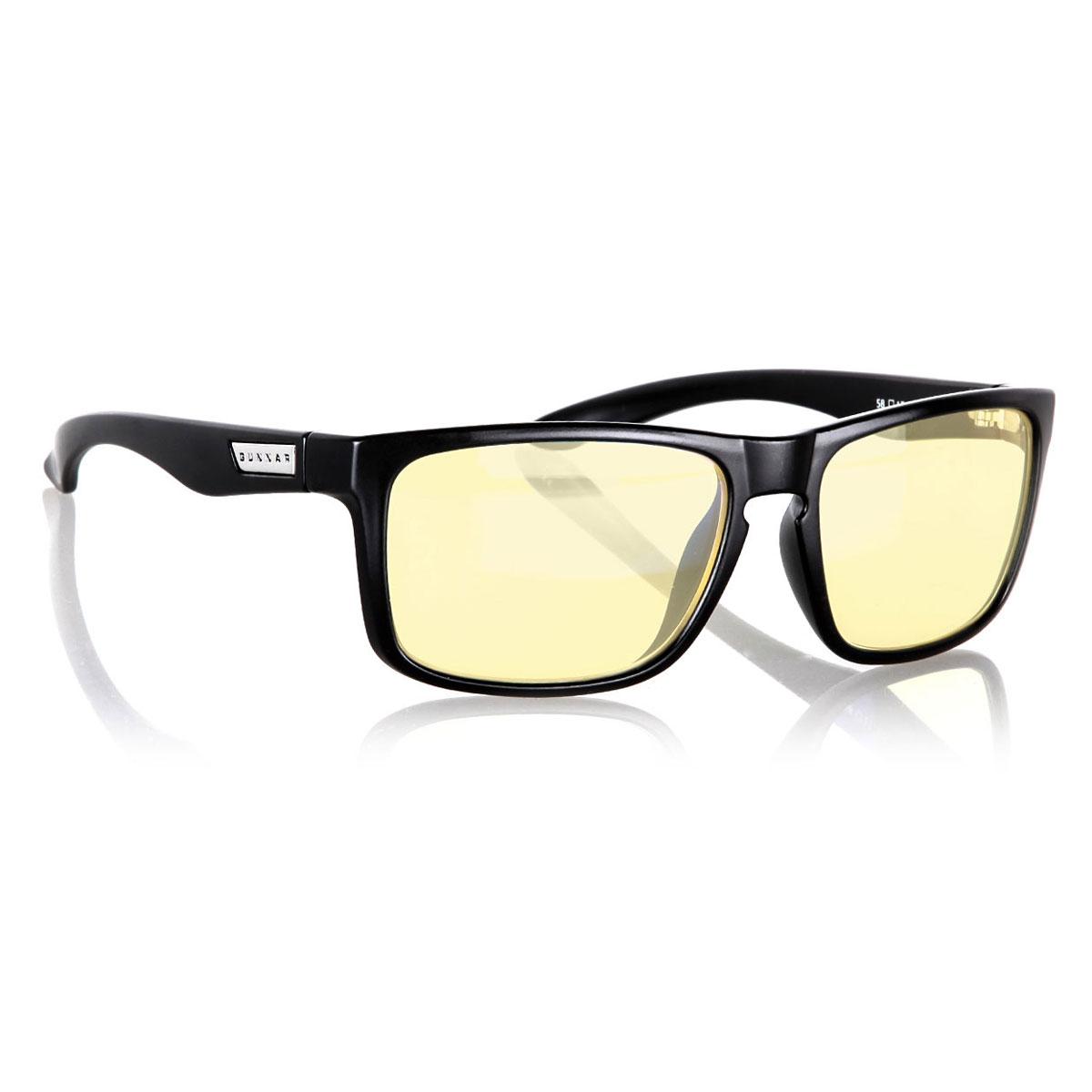 gunnar intercept onyx lunettes de protection gunnar. Black Bedroom Furniture Sets. Home Design Ideas