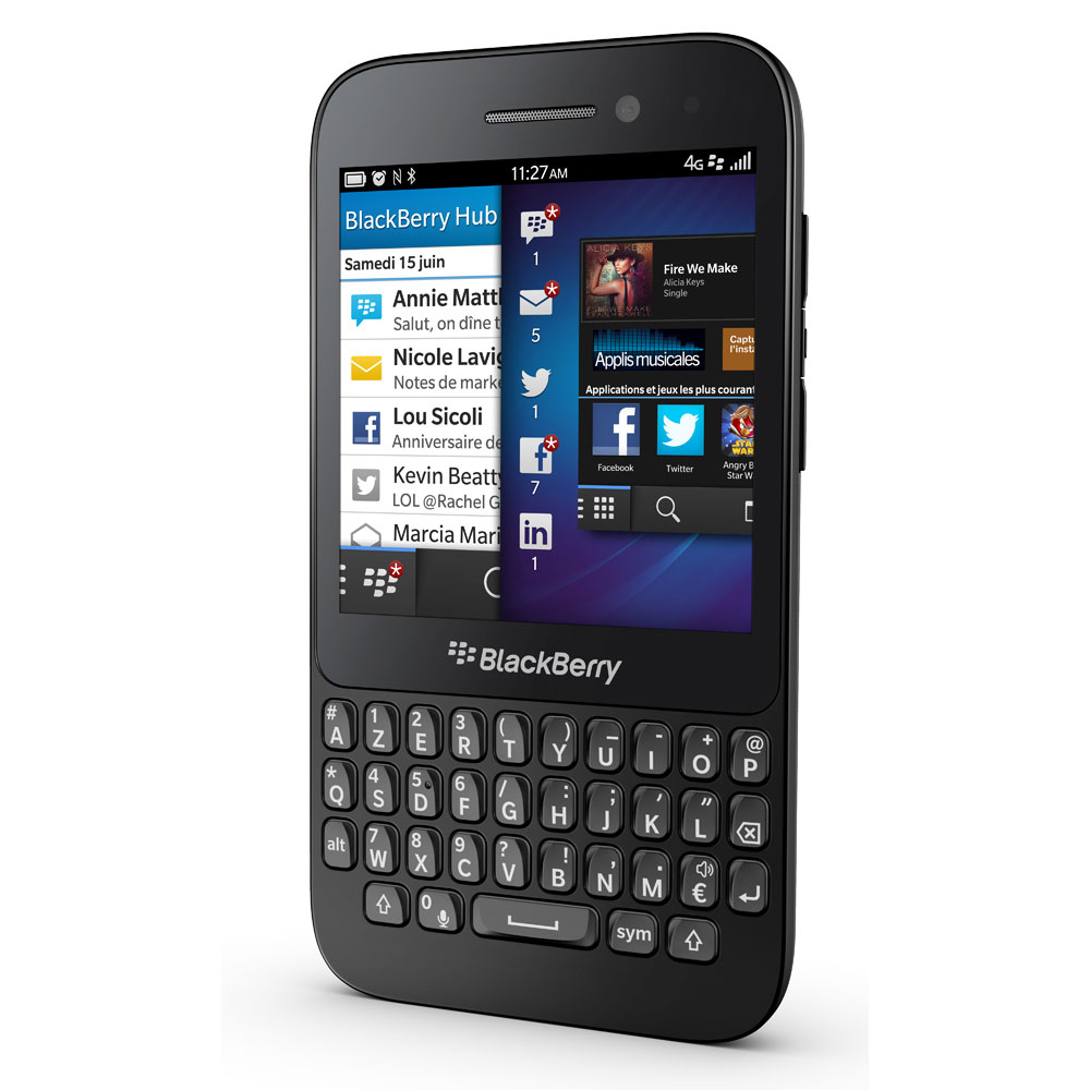 BlackBerry Q5 QWERTY Noir