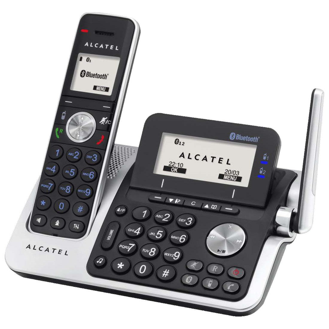 alcatel xp2050 t l phone sans fil alcatel sur. Black Bedroom Furniture Sets. Home Design Ideas