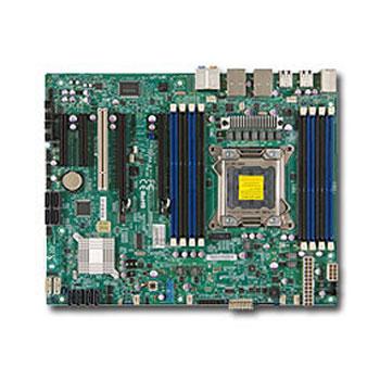 Carte mère SuperMicro X9SRA Carte mère ATX Socket 2011 - SATA 6Gb/s - 2 x PCI Express 3.0 16x - 2 x Gigabit LAN