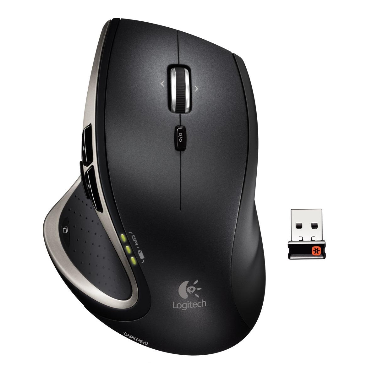 Souris PC Logitech Performance Mouse MX Souris sans fil - droitier - capteur laser 835 dpi - 6 boutons