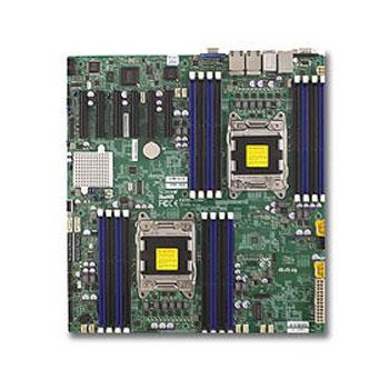 Carte mère SuperMicro X9DRD-EF Carte mère E-ATX Socket 2011 - SATA 6Gb/s - 2 x Gigabit LAN