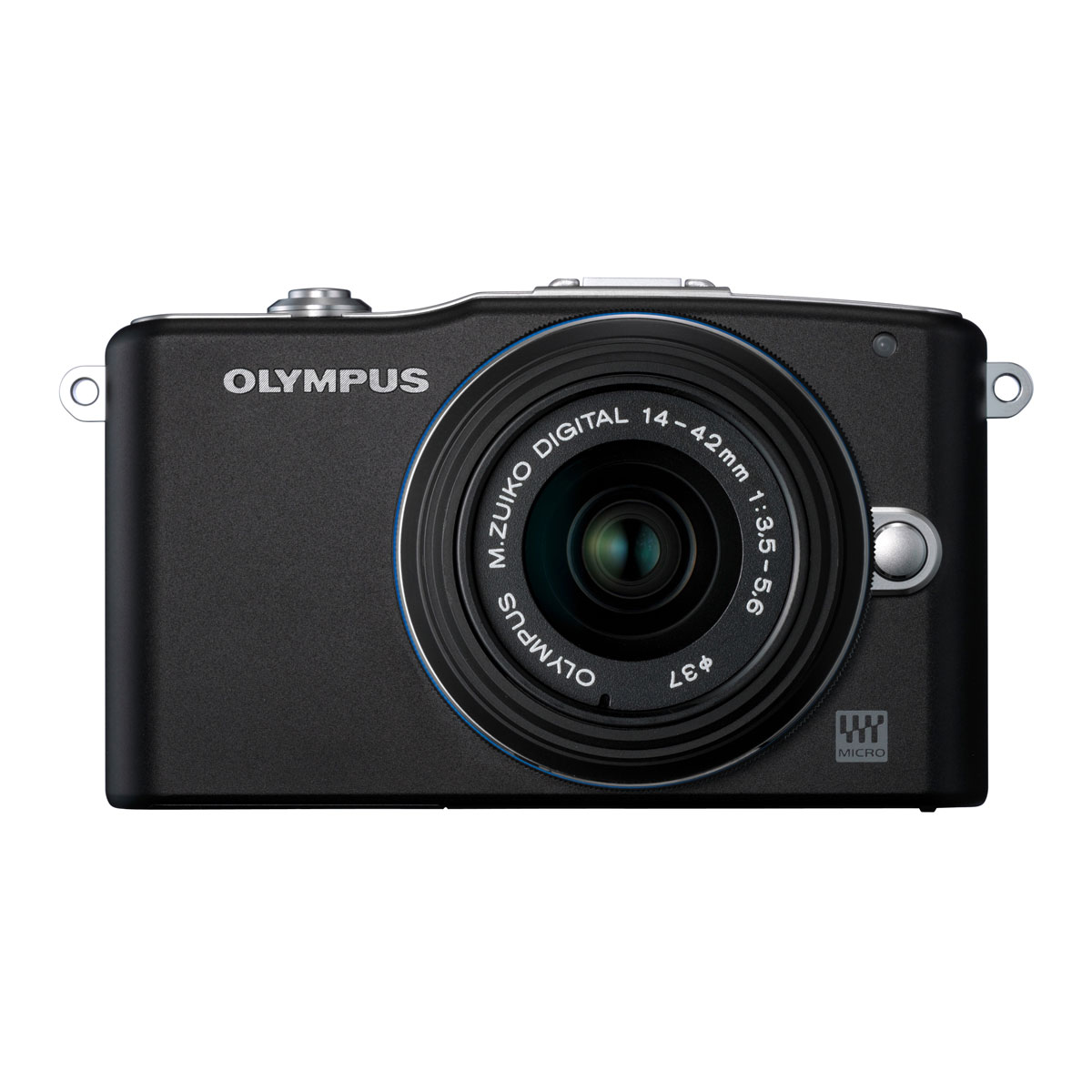olympus pen mini e pm1 noir objectif m zuiko digital 14 42 mm appareil photo hybride olympus. Black Bedroom Furniture Sets. Home Design Ideas