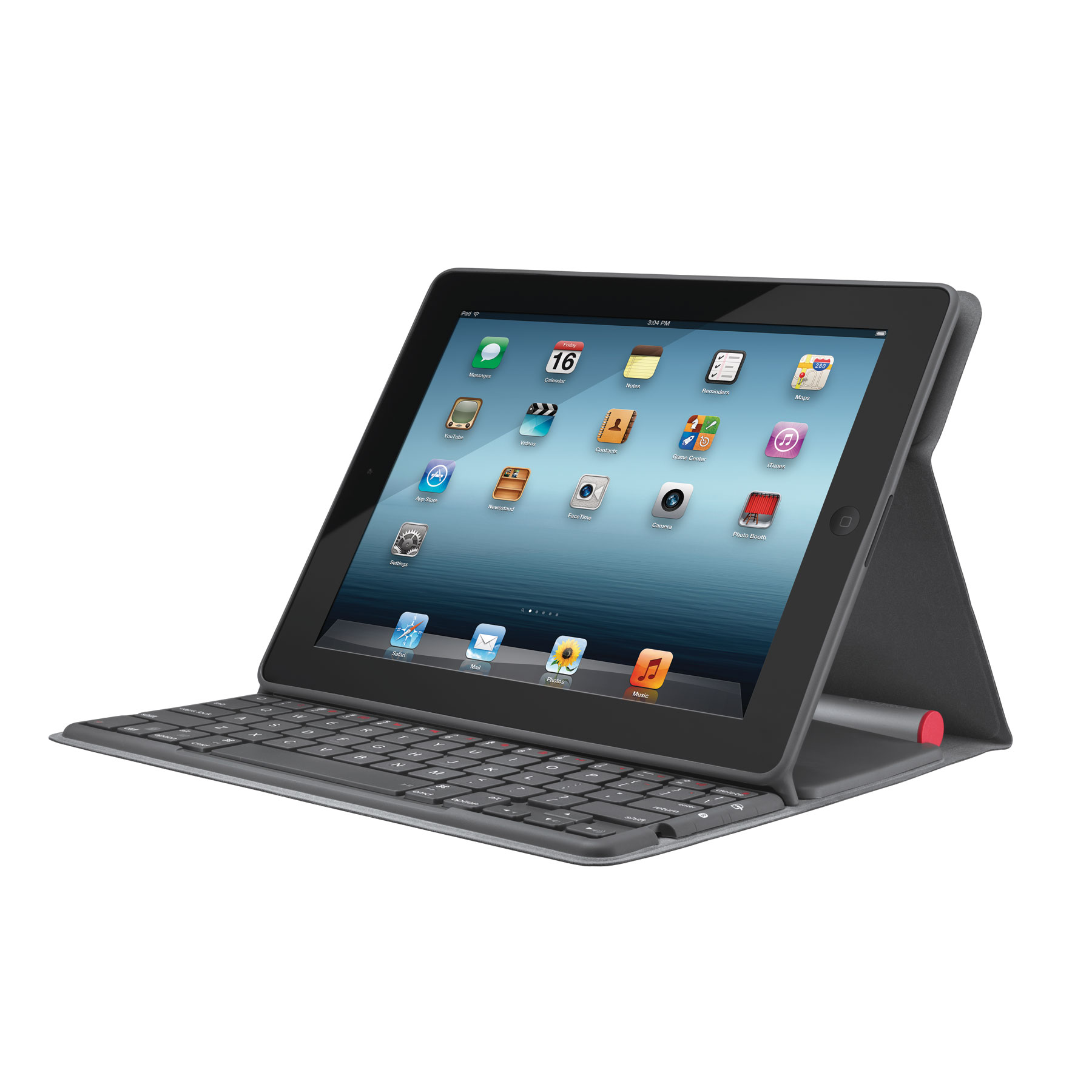 Logitech Solar Keyboard Folio For Ipad Carbon Black