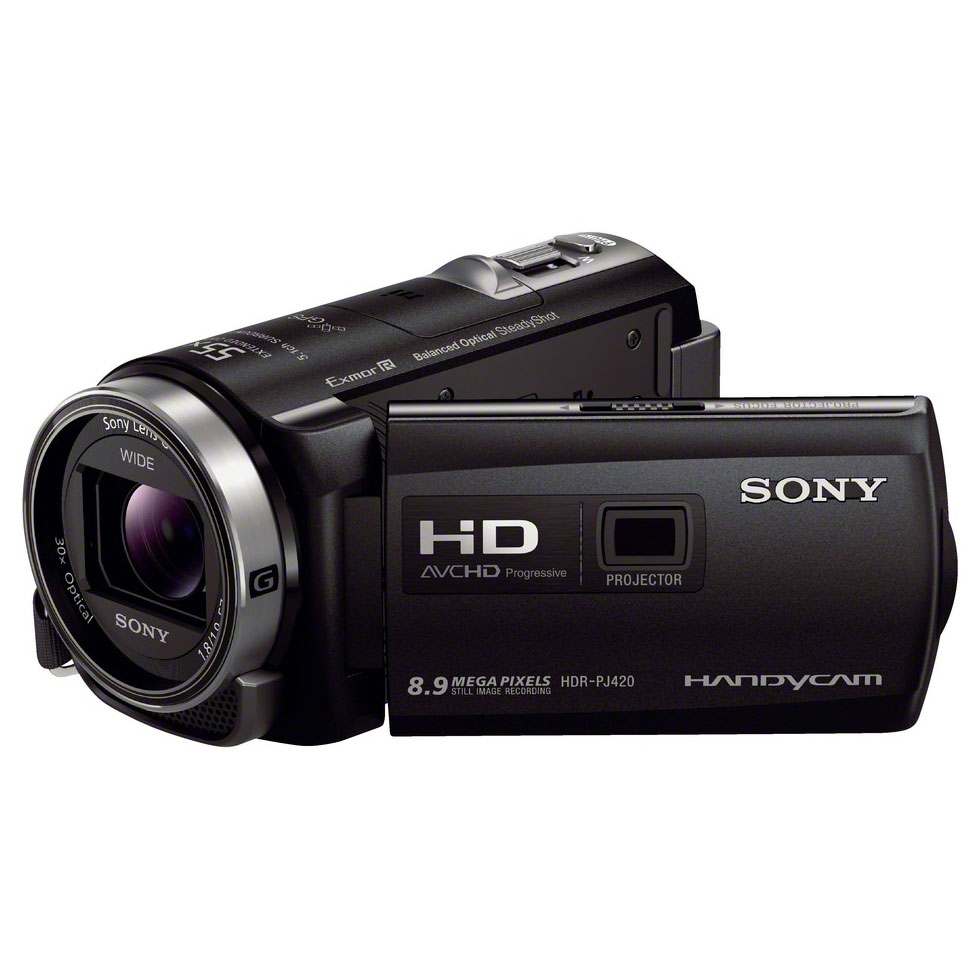 sony hdr pj420ve noir cam scope num rique sony sur. Black Bedroom Furniture Sets. Home Design Ideas