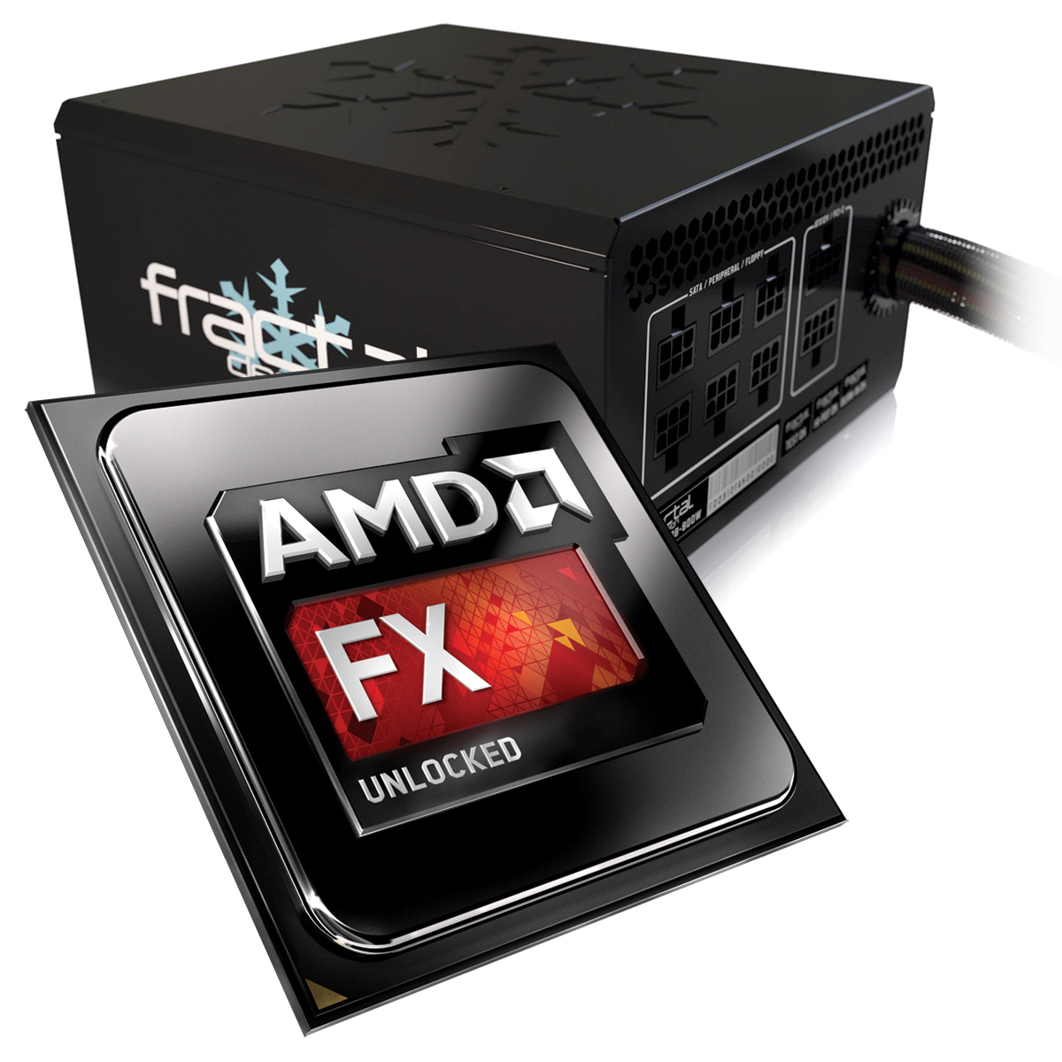 AMD FX 9590 Unlocked 50 GHz Max Turbo Fractal Design