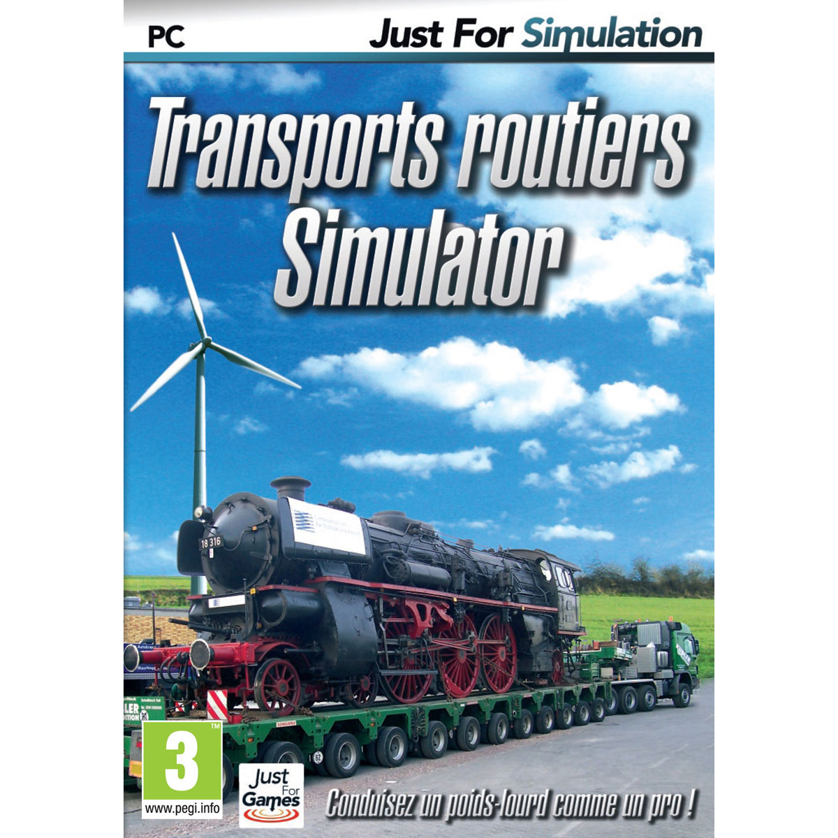 transport routiers simulator pc jeux pc just for games sur. Black Bedroom Furniture Sets. Home Design Ideas