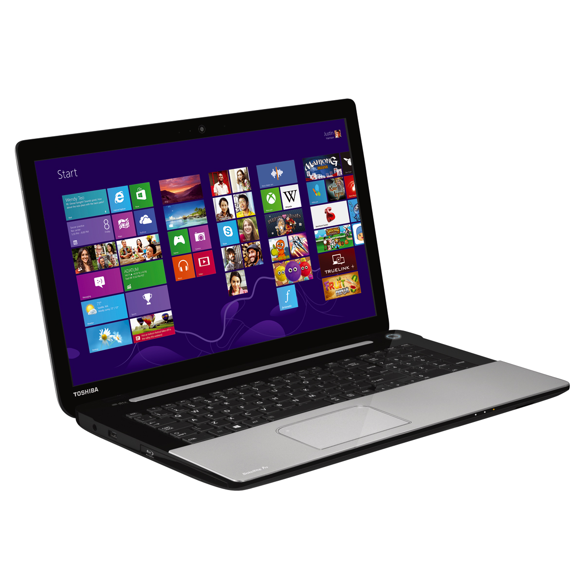 "PC portable Toshiba Satellite Pro L70-A-13R Intel Core i3-4000M 4 Go 750 Go 17.3"" LED NVIDIA GeForce GT 740M Graveur DVD Wi-Fi N/Bluetooth Webcam Windows 8.1 64 bits"