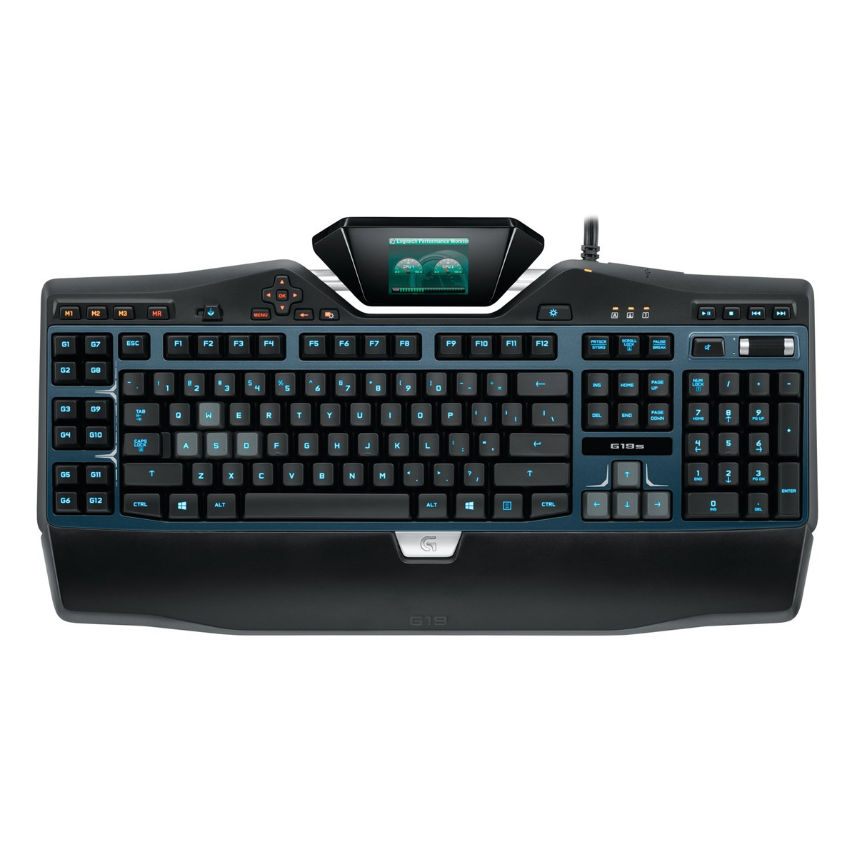 logitech g19s gaming keyboard clavier pc logitech sur. Black Bedroom Furniture Sets. Home Design Ideas