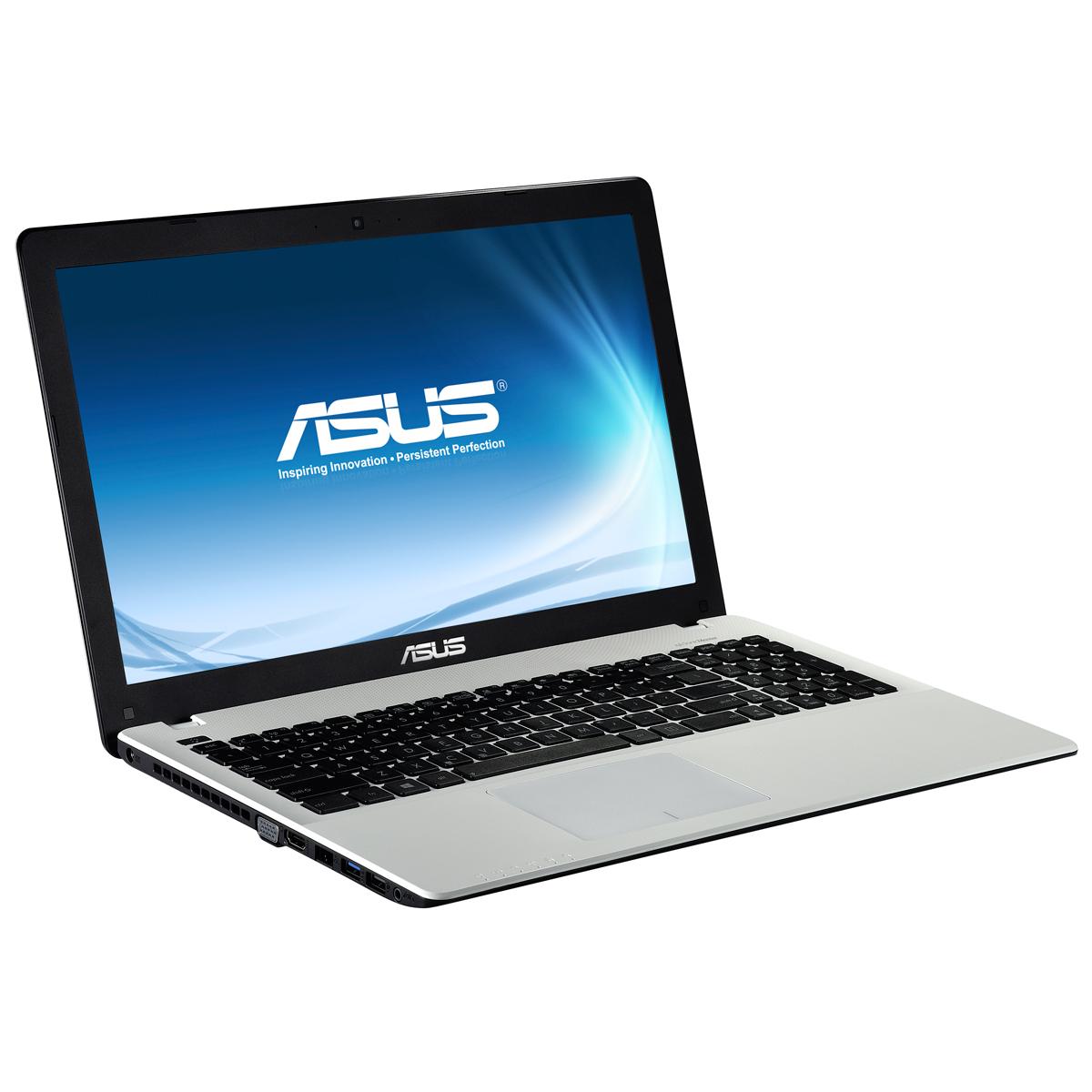 """PC portable ASUS R510CC-XX577H Blanc Intel Core i5-3337U 4 Go 1 To 15.6"""" LED NVIDIA GeForce GT 720M Graveur DVD Wi-Fi N Webcam Windows 8 64 bits (garantie constructeur 1 an)"""