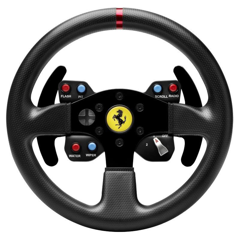 thrustmaster gte f458 wheel add on volant pc thrustmaster sur. Black Bedroom Furniture Sets. Home Design Ideas