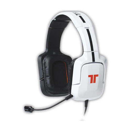 tritton pro 5 1 gloss white pc mac micro casque. Black Bedroom Furniture Sets. Home Design Ideas