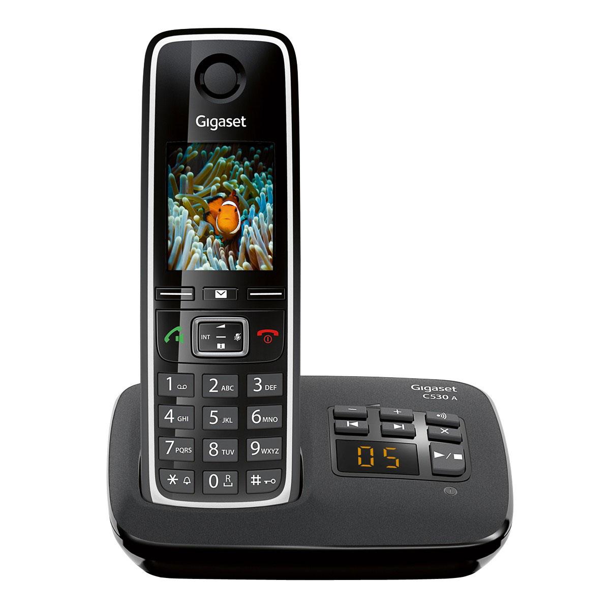 Gigaset c530a t l phone sans fil gigaset sur for Telephone interieur sans fil
