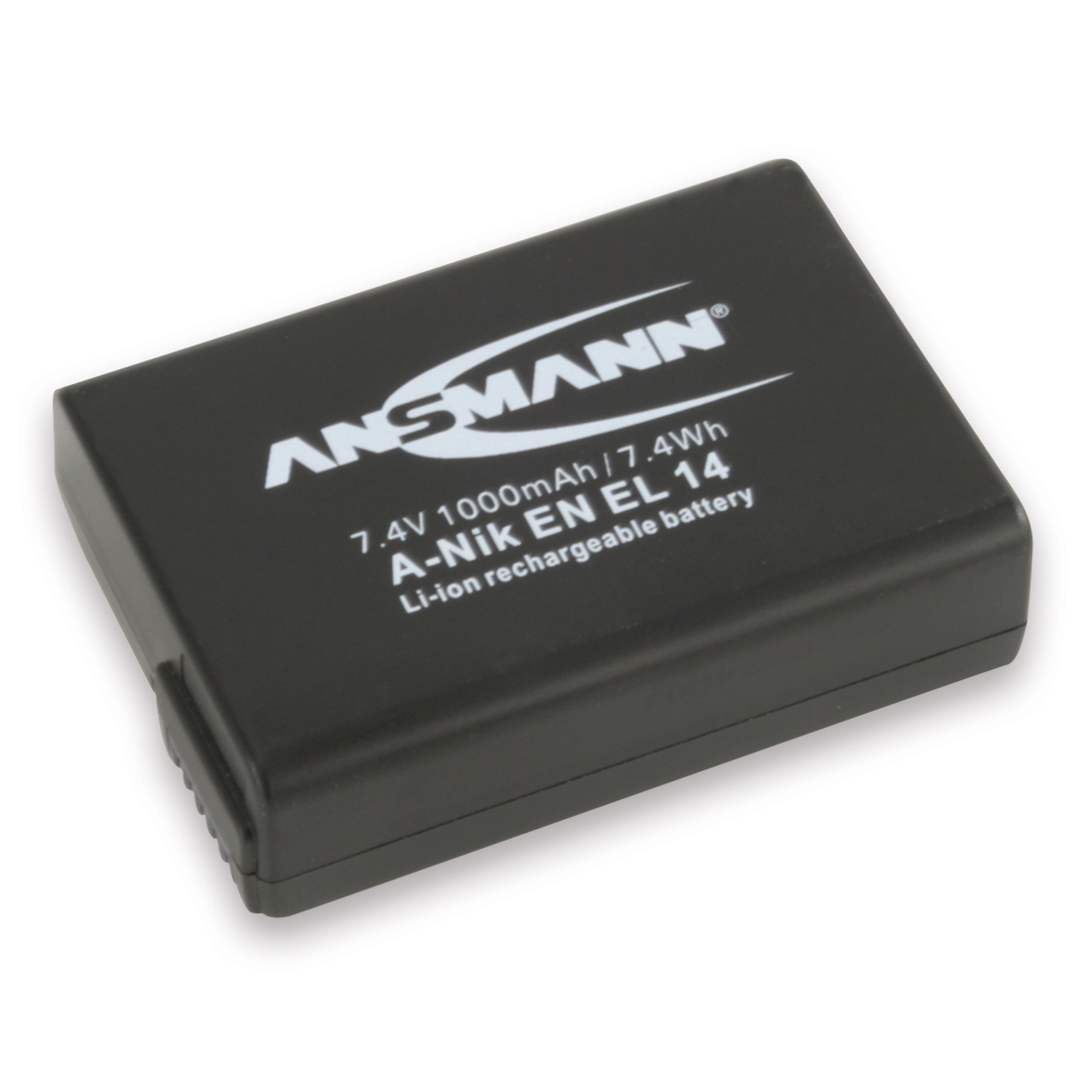 Batterie appareil photo ANSMANN A-NIK EN-EL14 Batterie compatible Nikon EN-EL14