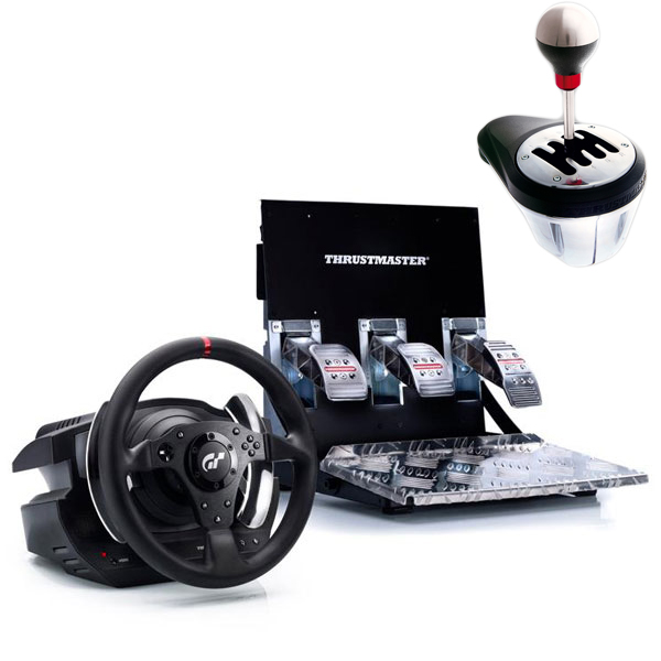 thrustmaster t500 rs th8 rs shifter volant pc thrustmaster sur. Black Bedroom Furniture Sets. Home Design Ideas