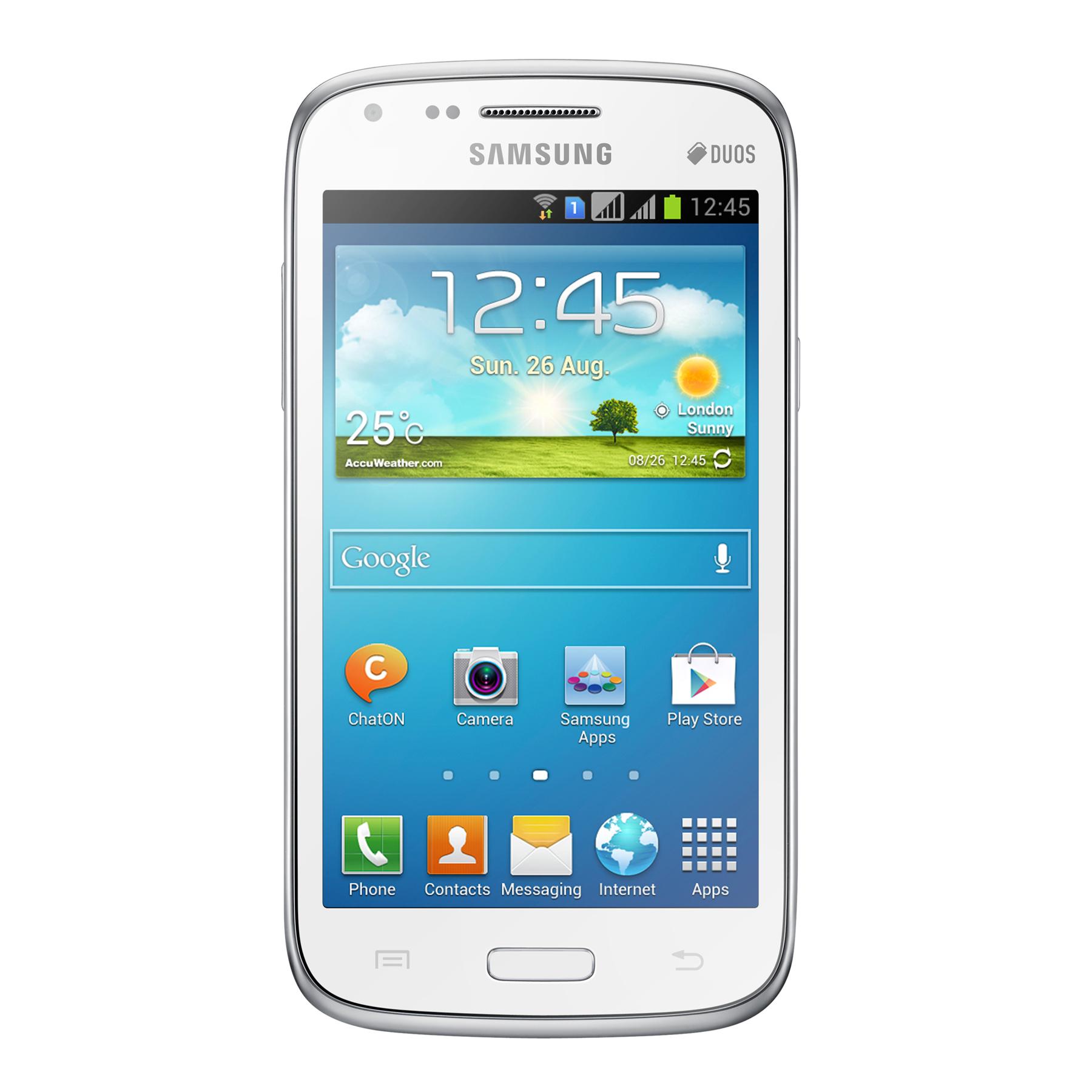 Mobile   smartphone Samsung Galaxy Core LTE SM-G386F Blanc Smartphone 4G-LTE  avec adbde2cb8894