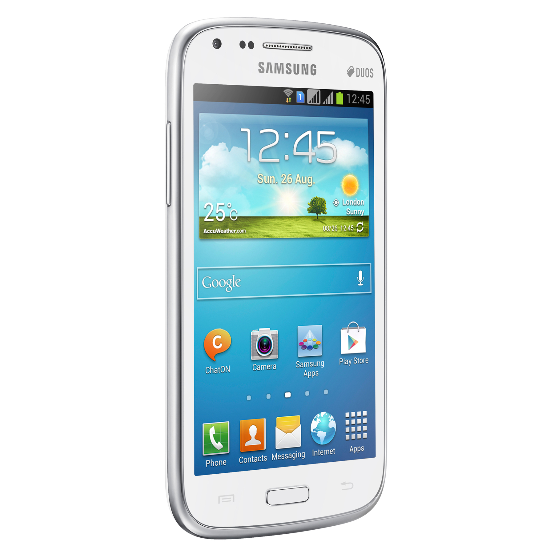 Samsung Galaxy Core Gt I8262 Blanc Mobile Amp Smartphone