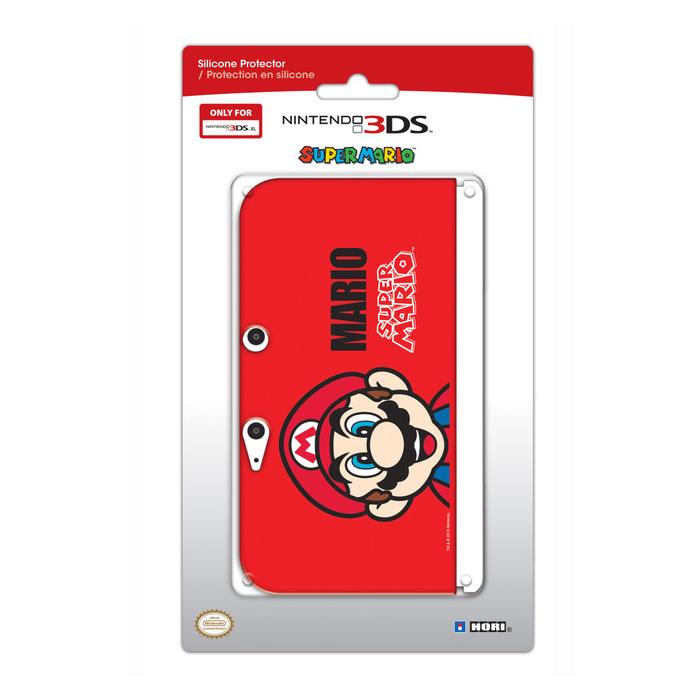 Hori coque de protection silicone mario nintendo 3ds xl for Coque 3ds xl pokemon