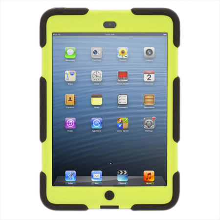 griffin survivor noire et lime ipad mini etui tablette griffin technology inc sur. Black Bedroom Furniture Sets. Home Design Ideas