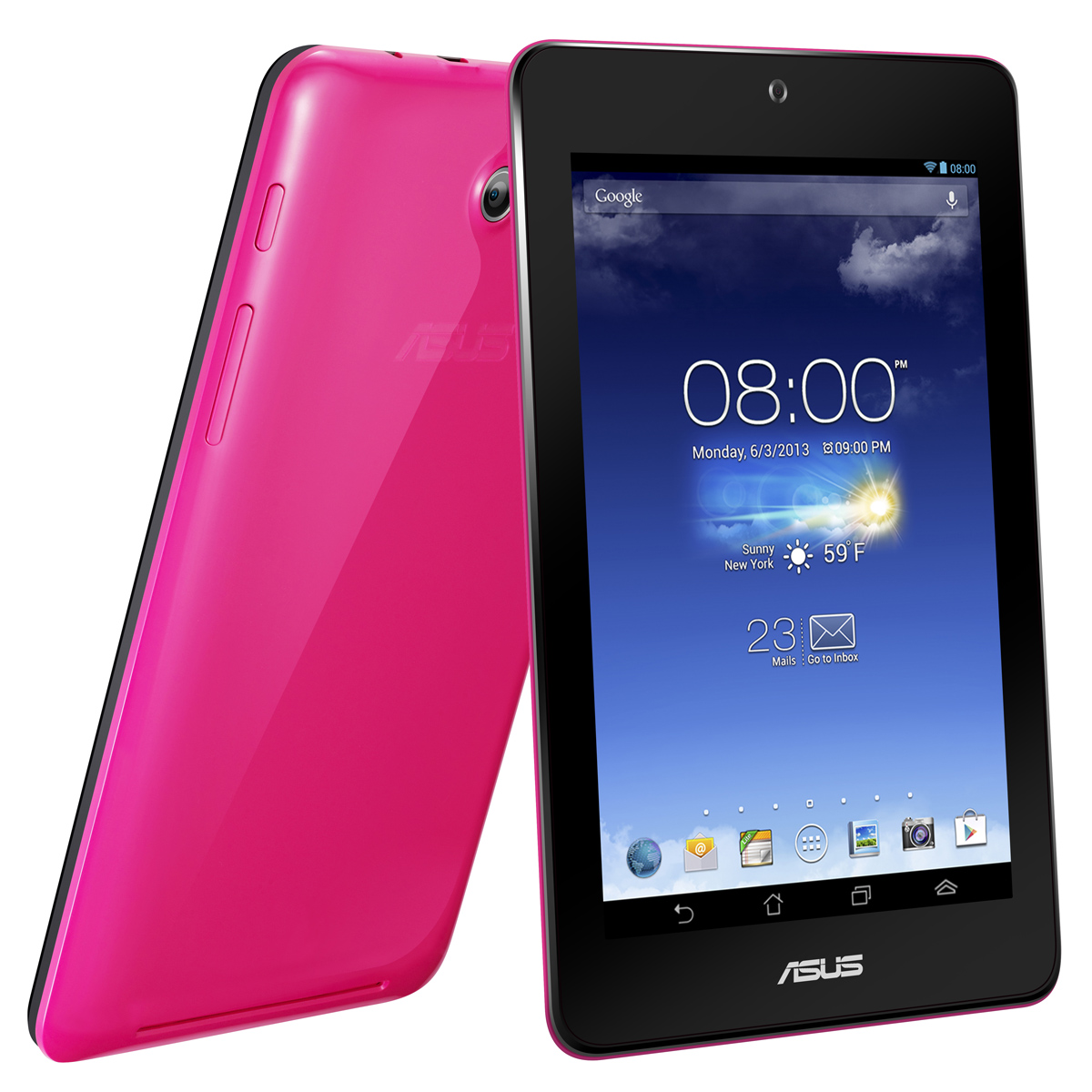 asus memo pad hd 7 rose me173x 1b002a tablette tactile asus sur. Black Bedroom Furniture Sets. Home Design Ideas