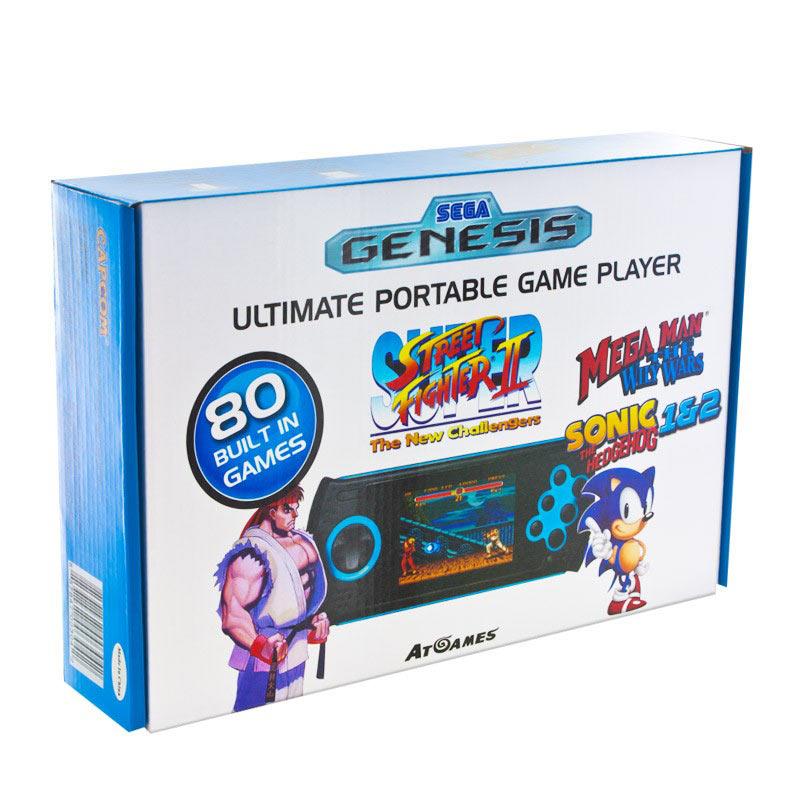 sega console portable genesis arcade ultimate 80 jeux. Black Bedroom Furniture Sets. Home Design Ideas