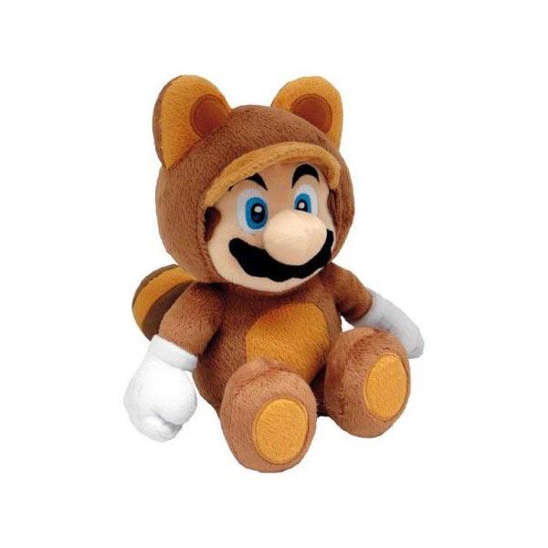 Jeux et Accessoires Nintendo Peluche Mario Tanooki Peluche Mario Bros Nintendo Mario Tanooki 28cm