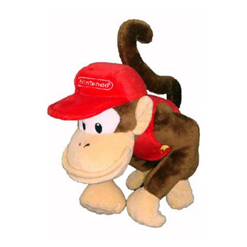 Jeux et Accessoires Nintendo Peluche Diddy Kong Peluche Mario Bros Nintendo Diddy Kong 20 cm