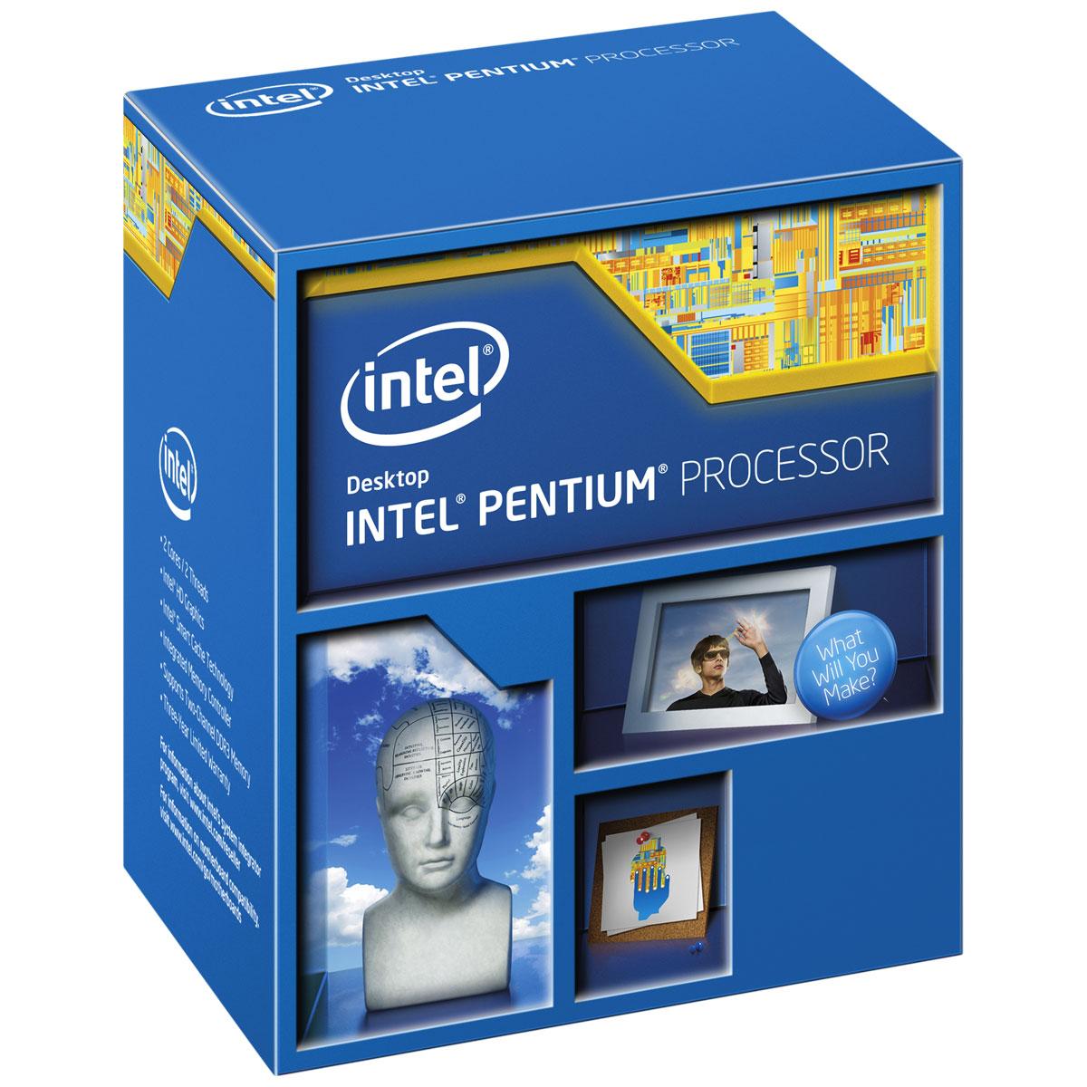 Processeur Intel Pentium G3220 (3 GHz) Processeur Dual Core Socket 1150 Cache L3 3 Mo Intel HD Graphics 0.022 micron (version boîte - garantie Intel 3 ans)