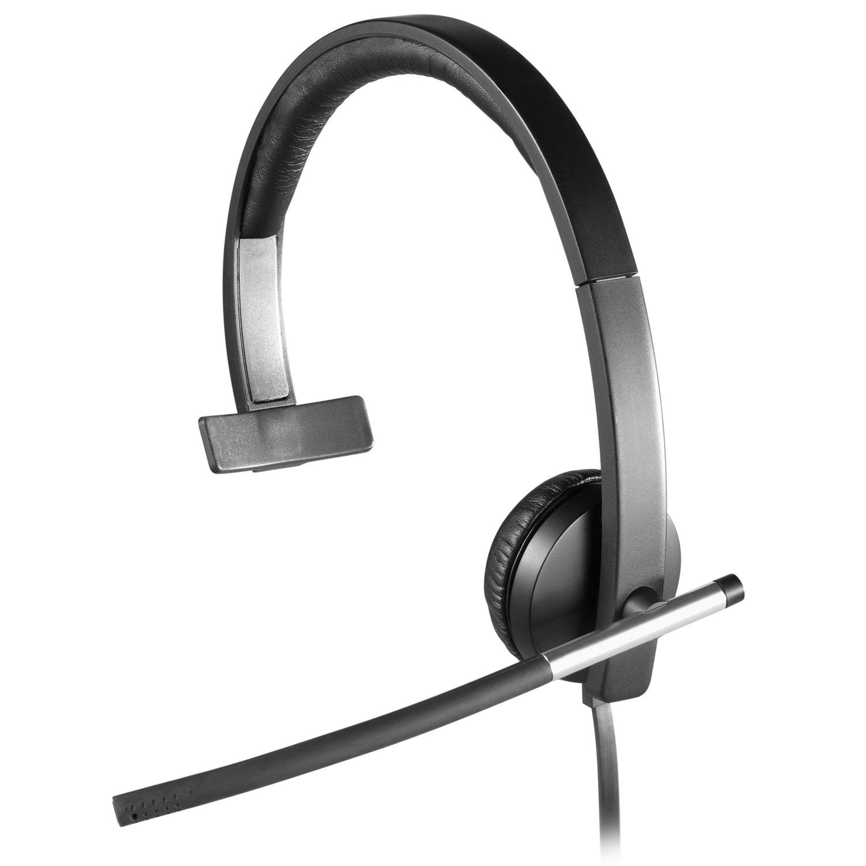 logitech usb headset mono h650e micro casque logitech sur. Black Bedroom Furniture Sets. Home Design Ideas