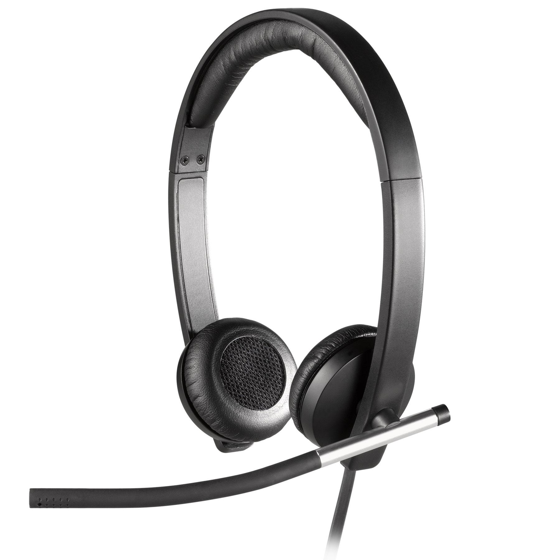 logitech usb headset st r o h650e micro casque logitech sur. Black Bedroom Furniture Sets. Home Design Ideas