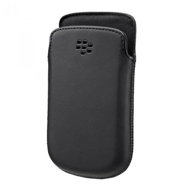 Etui téléphone BlackBerry 9720 Pocket Noir Etui pour BlackBerry 9720