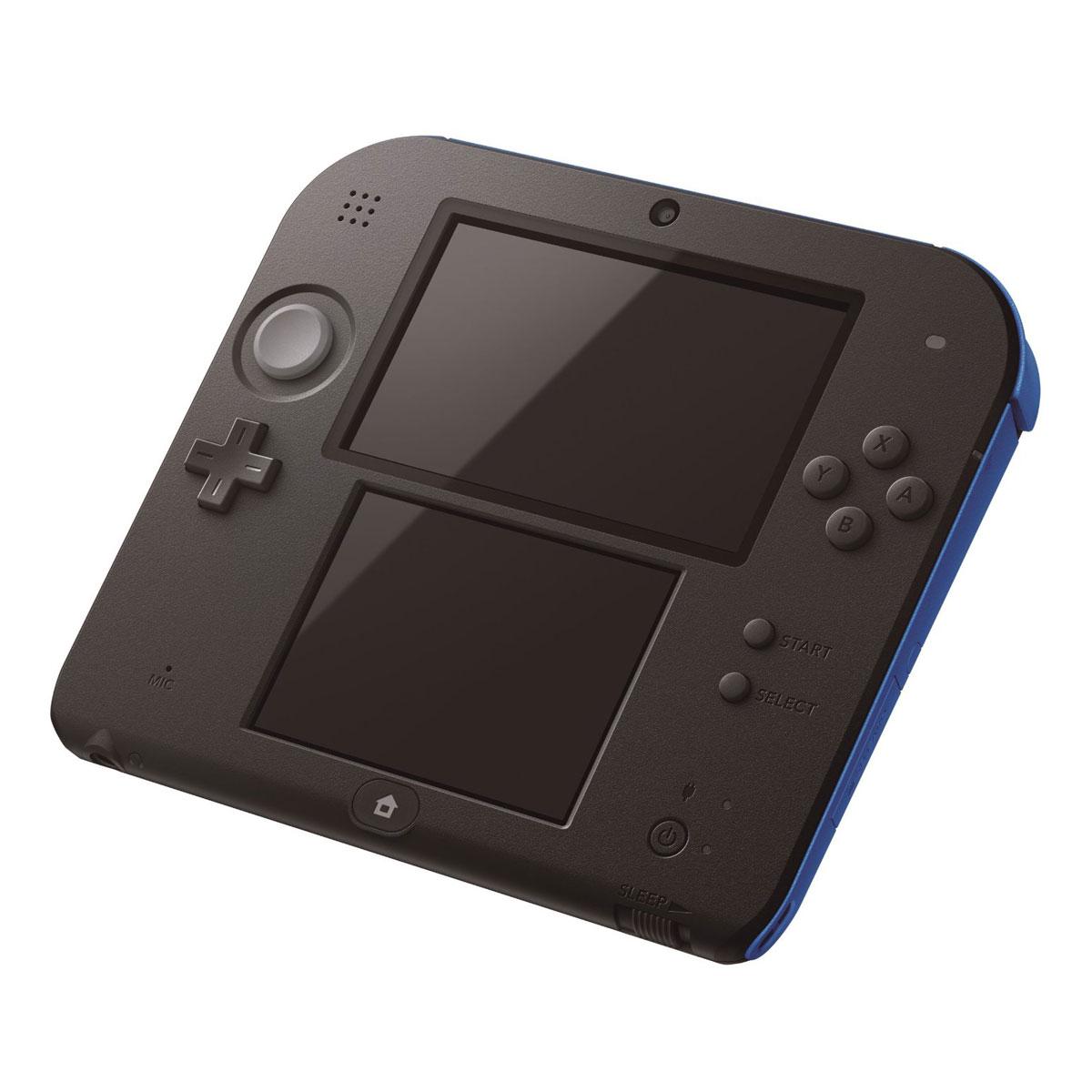 Nintendo 2ds bleue nintendo sur - Console de jeux portable tactile ...