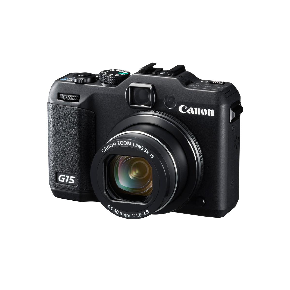 Canon powershot g15 noir appareil photo num rique canon for Ecran appareil photo canon