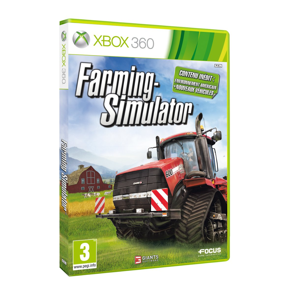farming simulator 2013 xbox 360 jeux xbox 360 focus home interactive sur. Black Bedroom Furniture Sets. Home Design Ideas