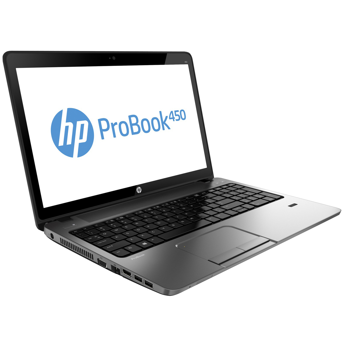 "PC portable HP ProBook 450 (E9Y09EA) Intel Core i3-4000M 4 Go 500 Go 15.6"" LED Graveur DVD Wi-Fi N/Bluetooth Webcam Windows 7 Professionnel 64 bits + Windows 8 Pro 64 bits"