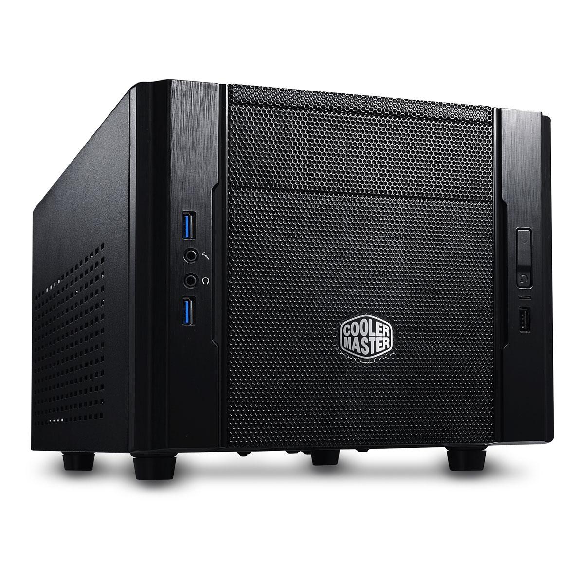 Boîtier PC Cooler Master Elite 130 Boîtier Mini ITX Noir